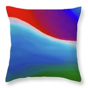 Abstract 201x By Nixo Throw Pillow