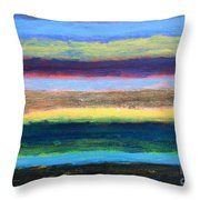 Abstract 215 Throw Pillow