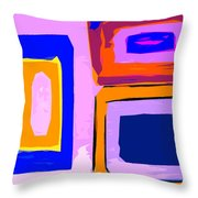 Abstract 223b Throw Pillow