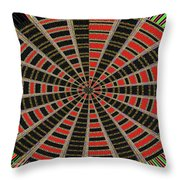 Abstract #2257-5 Throw Pillow