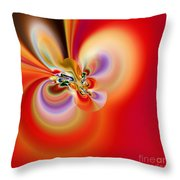 Abstract 239 Throw Pillow