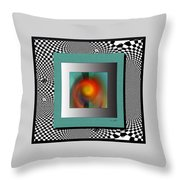 Abstract 2612 Throw Pillow