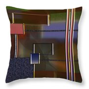 Abstract 2964 Throw Pillow