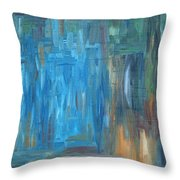 Abstract 297 Throw Pillow