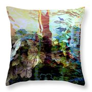 Abstract 339 Throw Pillow