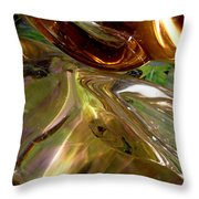Abstract 360 Throw Pillow