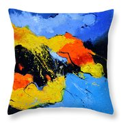 Abstract 363604 Throw Pillow