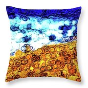 Abstract 3821 Throw Pillow