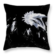 Abstract 385 Throw Pillow
