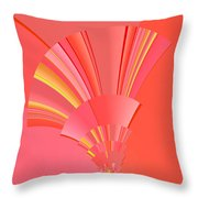 Abstract 386 Throw Pillow