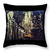 Into The Ether Throw Pillow