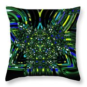 Abstract 401 Throw Pillow