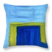 Abstract 402 Throw Pillow