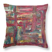 Abstract 403 Throw Pillow