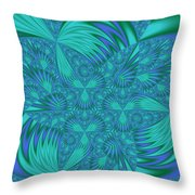 Abstract 404 Throw Pillow