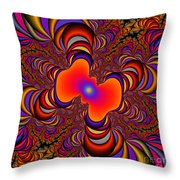 Abstract 41 Throw Pillow