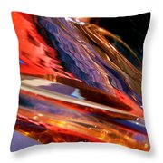 Abstract 414 Throw Pillow