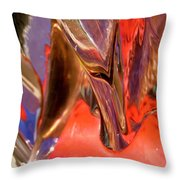 Abstract 415 Throw Pillow