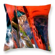 Abstract 417 Throw Pillow