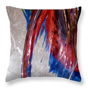 Abstract 419 Throw Pillow