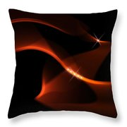 Abstract 42 2 Throw Pillow