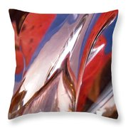 Abstract 420 Throw Pillow
