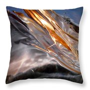 Abstract 428 Throw Pillow