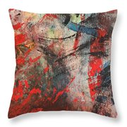 Abstract 43 Throw Pillow