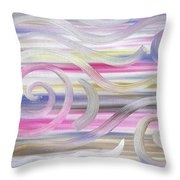 Abstract 436 Throw Pillow