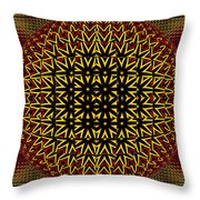Abstract 442 Throw Pillow