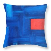 Abstract 443 Throw Pillow