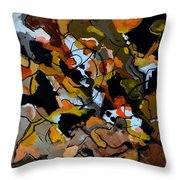 Abstract 446190 Throw Pillow