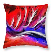 Abstract #45 Throw Pillow