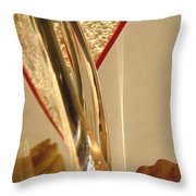 Abstract 452 Throw Pillow