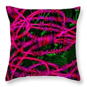 Abstract 464 Throw Pillow