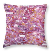Abstract 467 Throw Pillow
