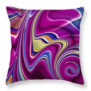 Abstract #49 Throw Pillow