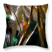 Abstract 491 Throw Pillow
