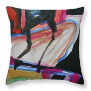 Abstract-5 Throw Pillow