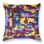 Abstract 50 Throw Pillow