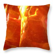 Abstract 500 Throw Pillow
