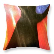 Abstract 501 Throw Pillow