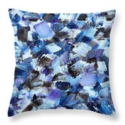 Abstract 517 Throw Pillow