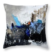 Abstract 51703 Throw Pillow