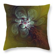 Abstract 51710 Throw Pillow