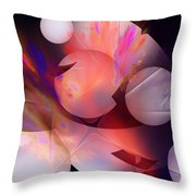 Abstract 51710d Throw Pillow