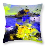 Abstract 55442233 Throw Pillow