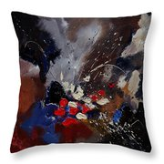 Abstract 55900122 Throw Pillow