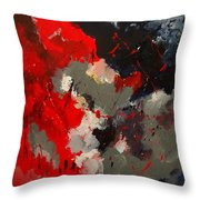 Abstract 55901103 Throw Pillow