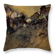 Abstract 55901161 Throw Pillow